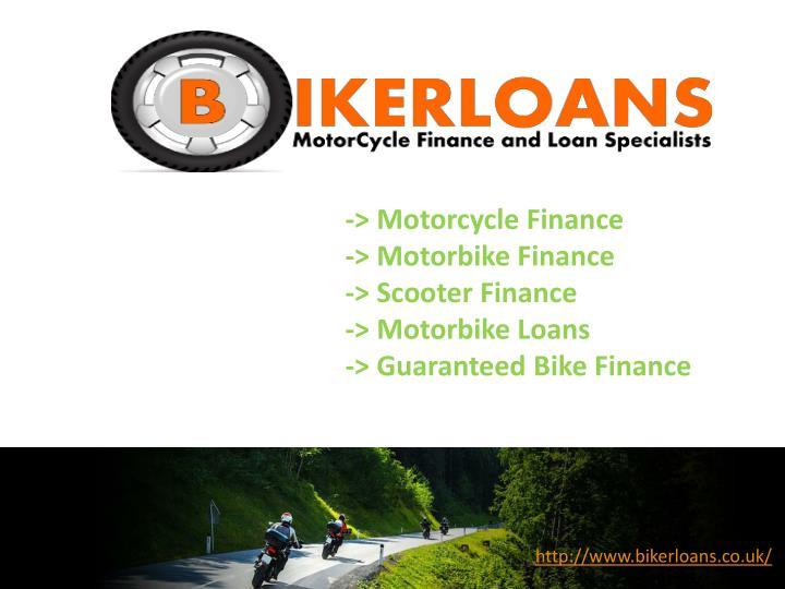 -> Motorcycle Finance