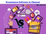 ecommerce software in chennai