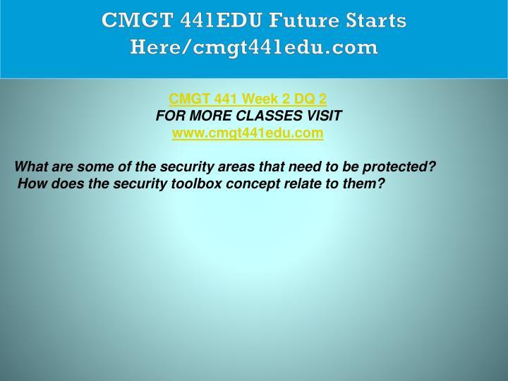 CMGT 441EDU Future Starts Here/cmgt441edu.com