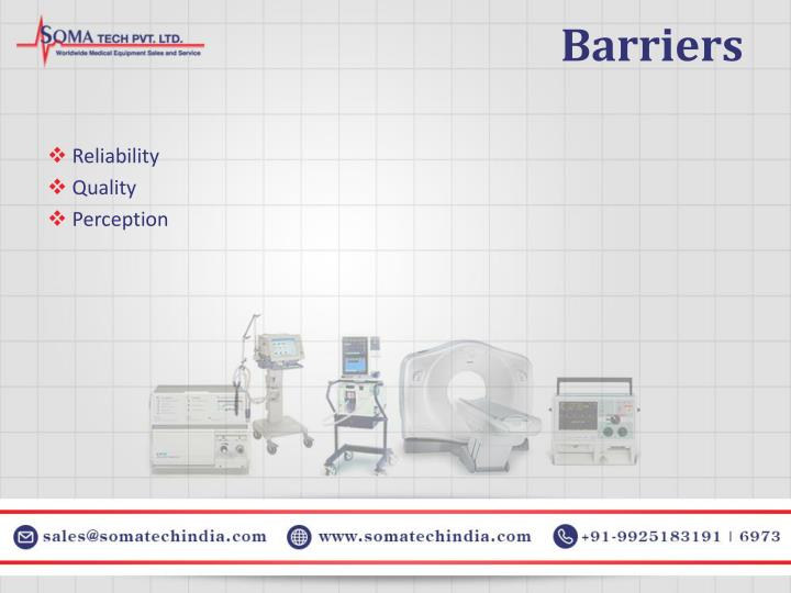Barriers