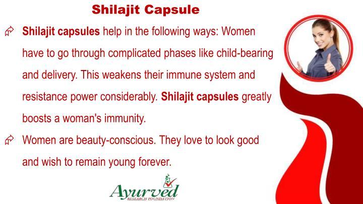 Shilajit Capsule