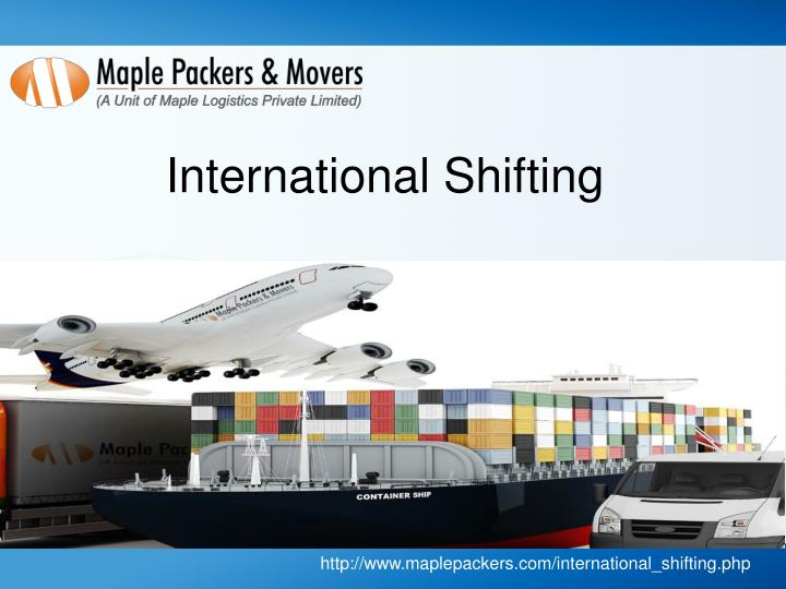 International Shifting