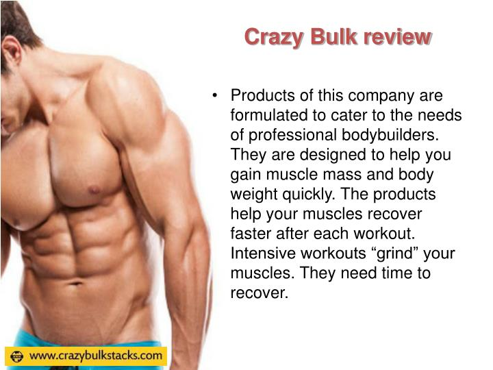 Crazy Bulk review