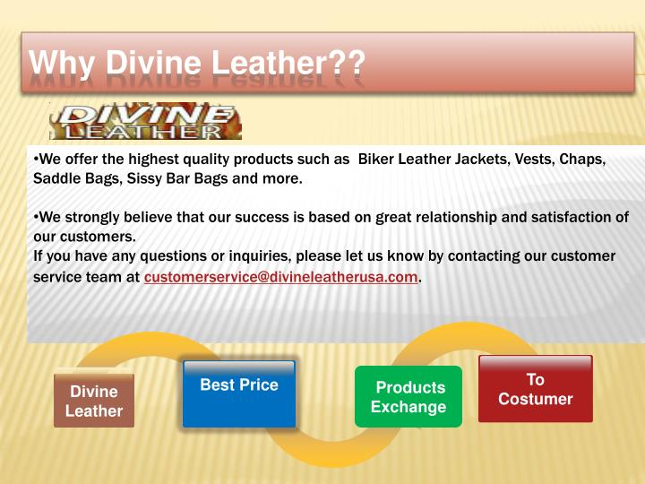 Why d ivine leather