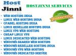 hostjinni services