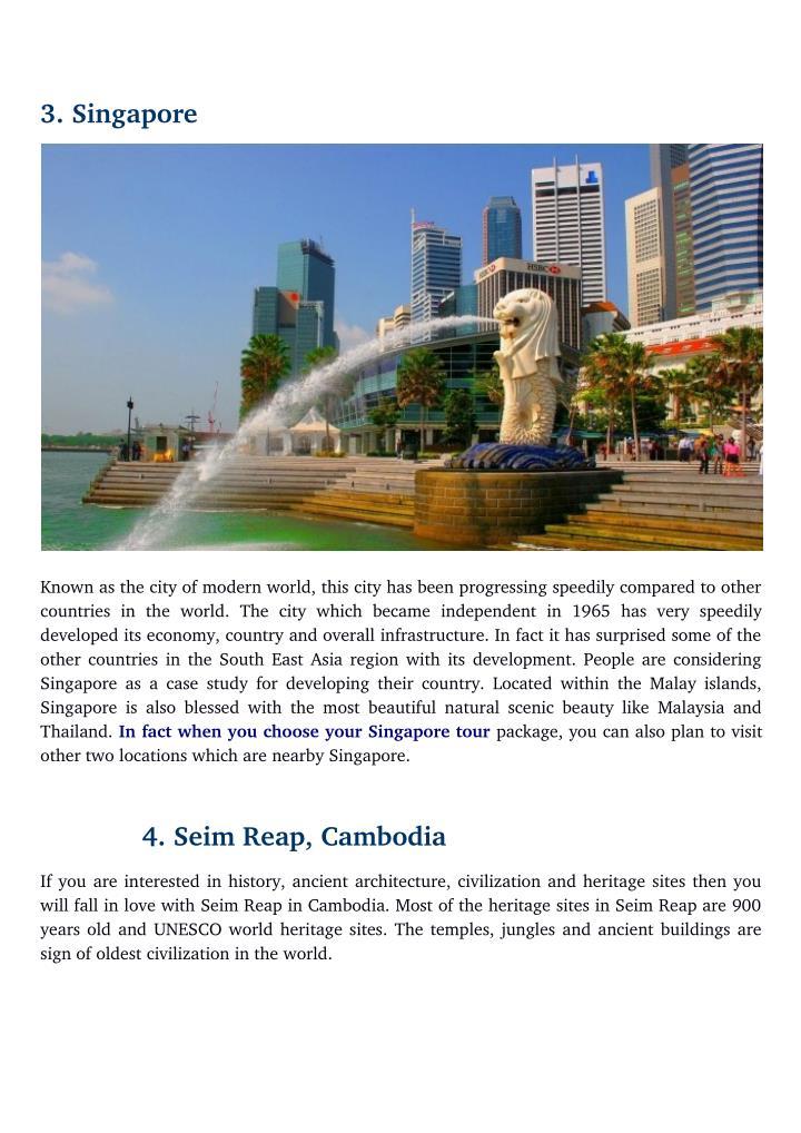3.Singapore