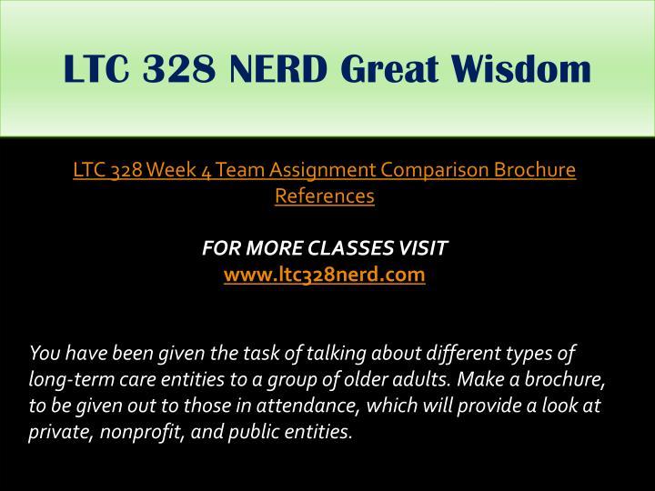 LTC 328 NERD Great