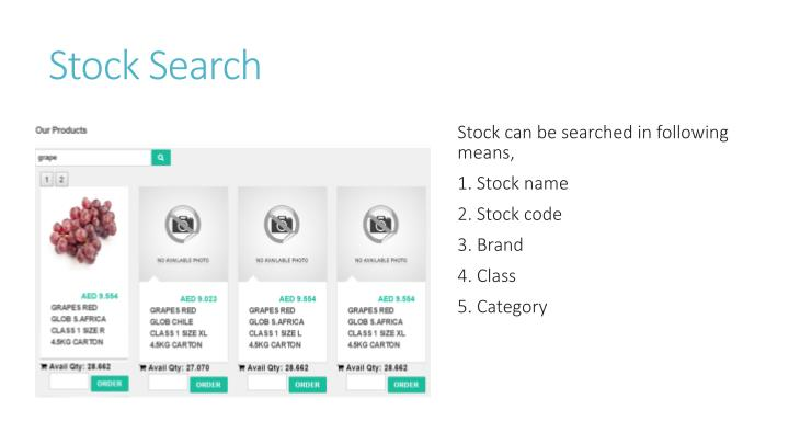 Stock Search