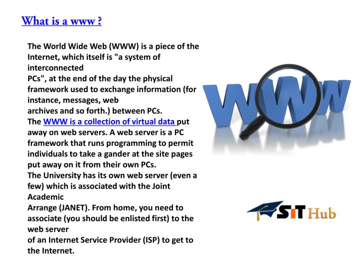 What is a www ?