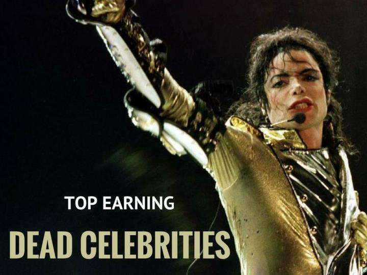 The Top-Earning Dead Celebrities Of 2017 - Forbes
