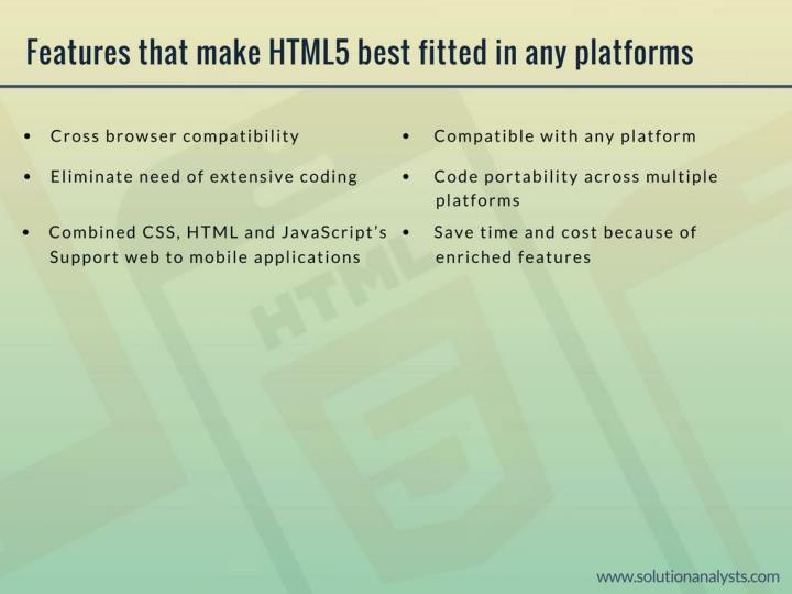 Html5 design and development company