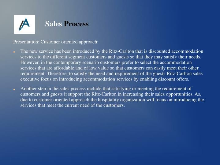 Presentation: Customer oriented approach: