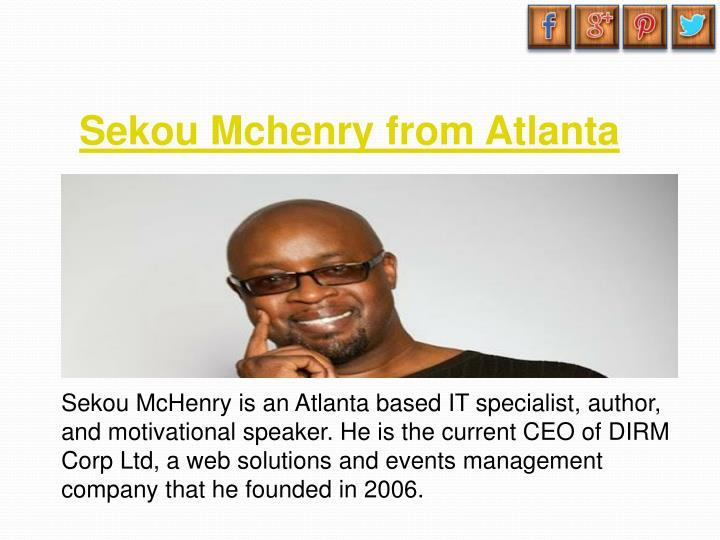 Sekou Mchenry from Atlanta
