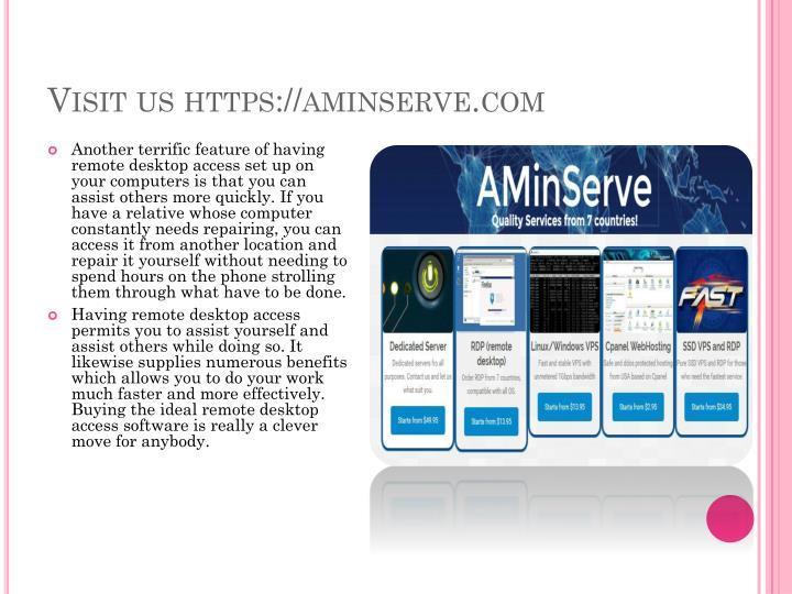 Visit us https://aminserve.com