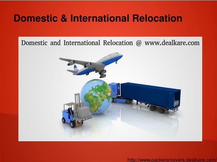 Domestic & International Relocation