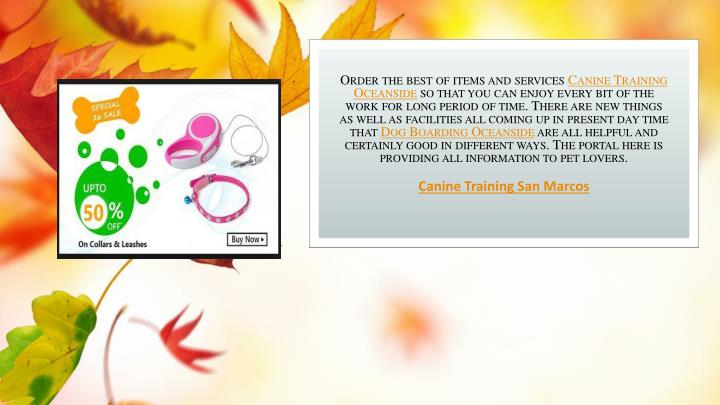 Order the best of items and services