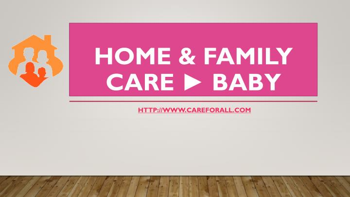 home family care baby n.
