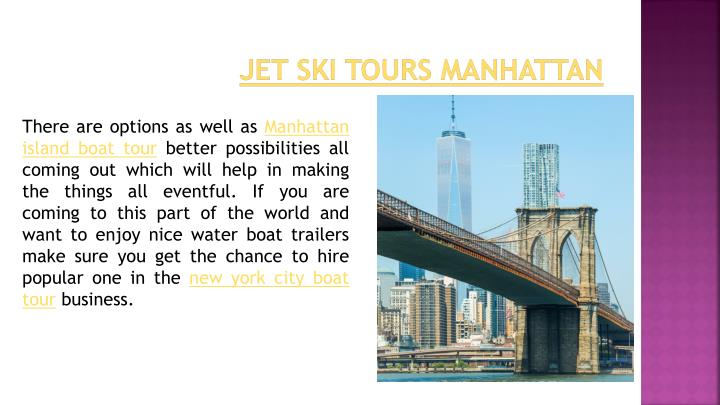 Jet Ski Tours Manhattan