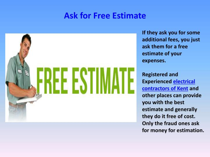 Ask for Free Estimate