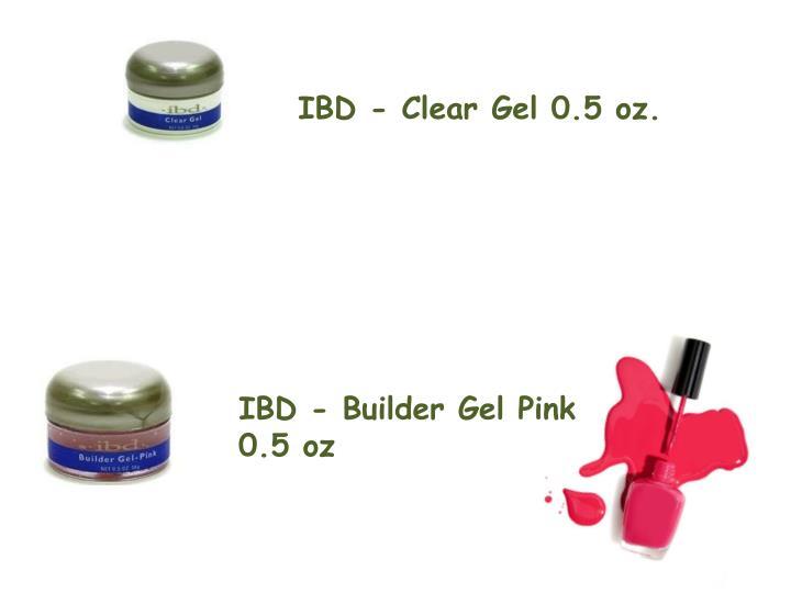 IBD - Clear Gel 0.5 oz.