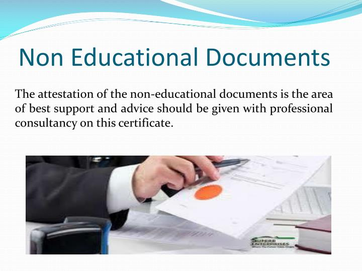 Non Educational Documents