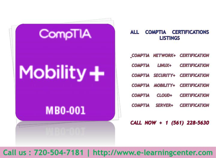 All CompTIA Certifications