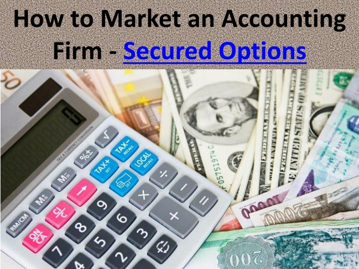 How to Market an Accounting Firm -