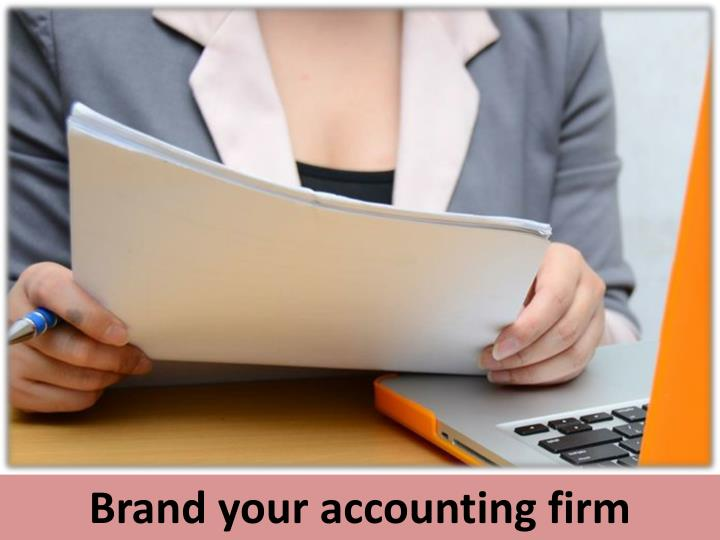 Brand your accounting firm