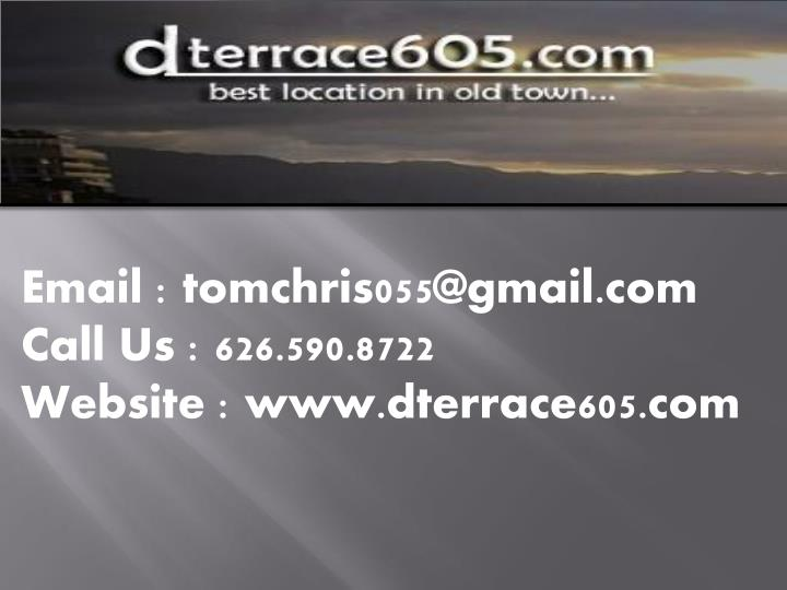 Email : tomchris055@gmail.com