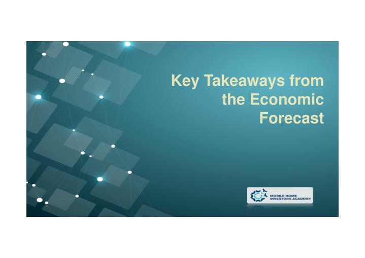Key Takeaways from