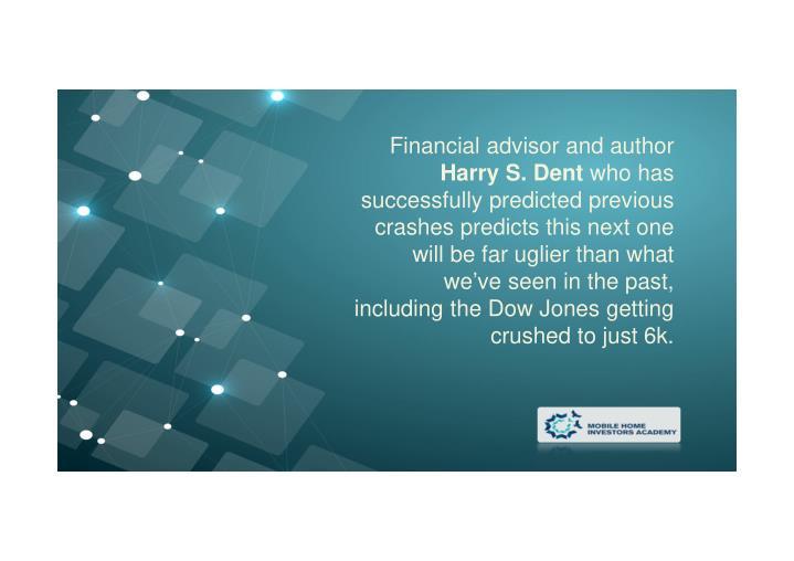 Financial advisor and author