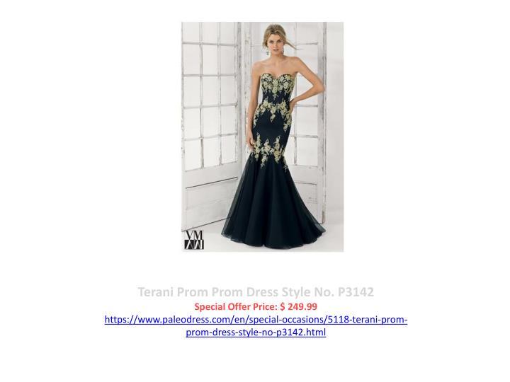 Terani Prom Prom Dress Style No. P3142