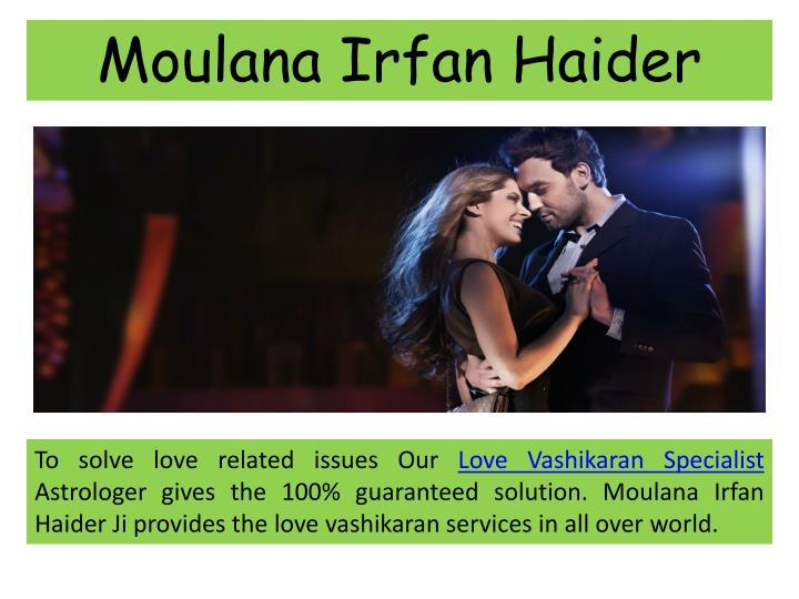 Moulana Irfan Haider