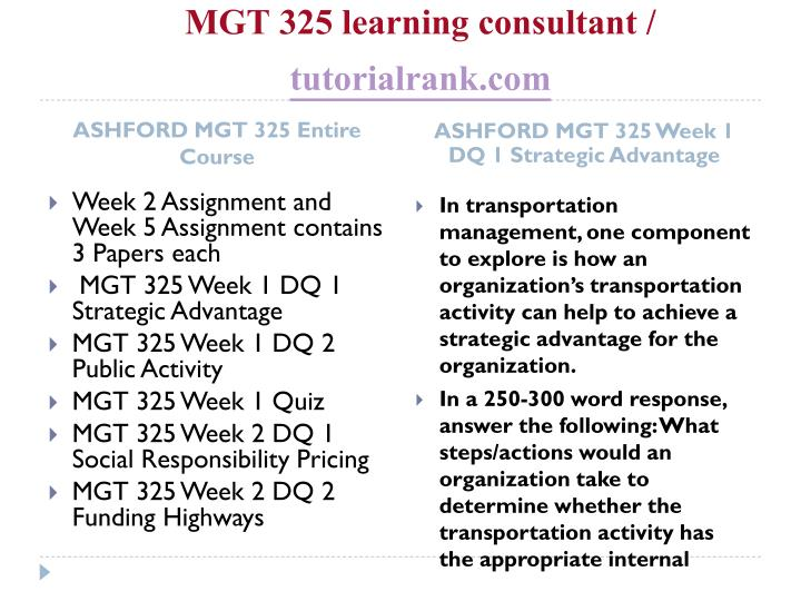 Mgt 325 learning consultant tutorialrank com1