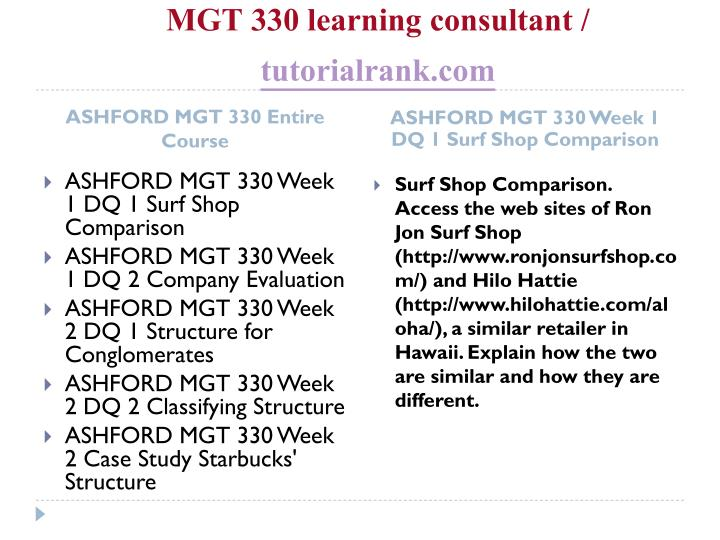Mgt 330 learning consultant tutorialrank com1