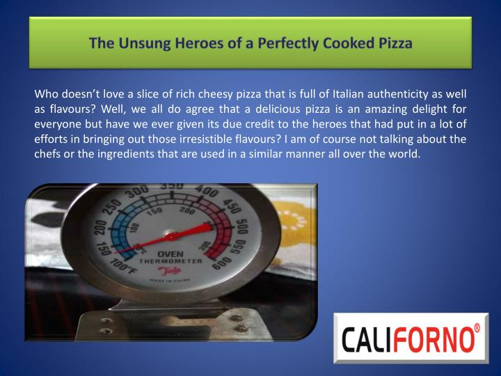 the unsung heroes of a perfectly cooked pizza n.