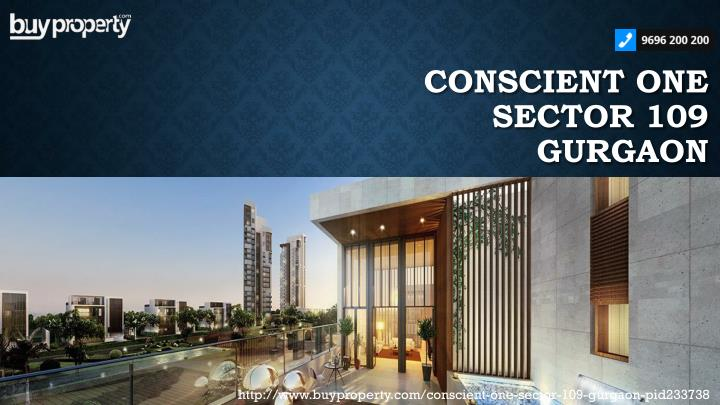 conscient one sector 109 gurgaon n.