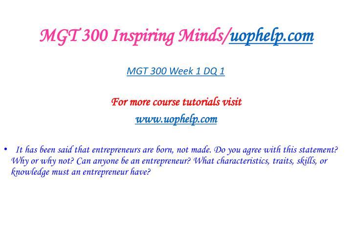 Mgt 300 inspiring minds uophelp com2