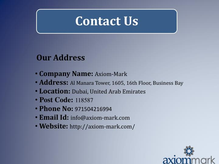 Our Address