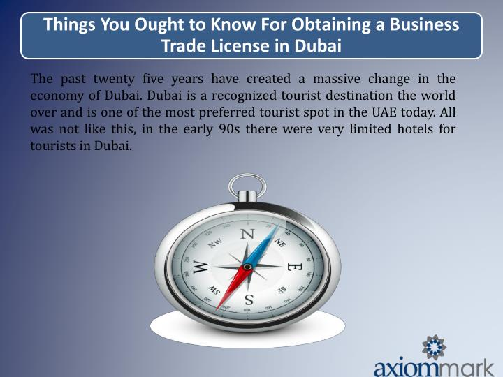 The past twenty five years have created a massive change in the economy of Dubai. Dubai is a recogni...