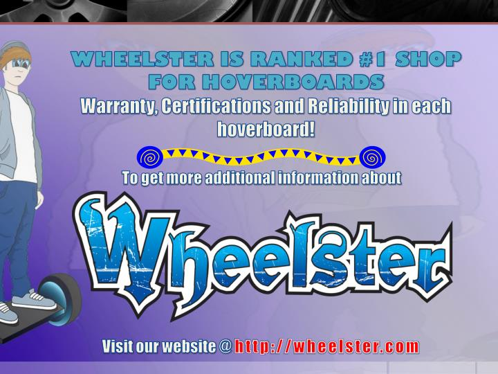 WHEELSTER IS RANKED #1 SHOP