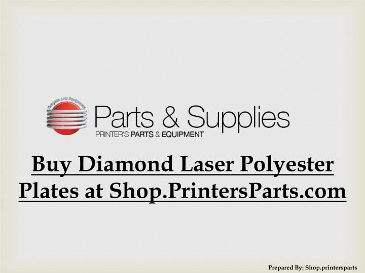 Buy Diamond Laser Polyester