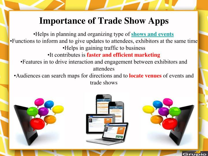 Importance of Trade Show Apps
