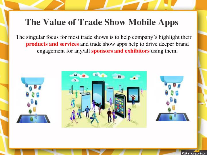 The value of trade show mobile apps
