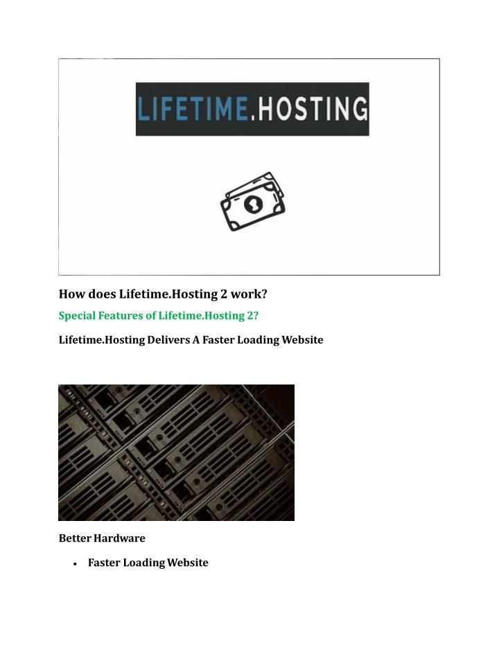 How does Lifetime.Hosting 2