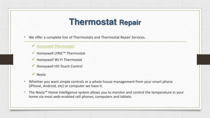 Thermostat repair1
