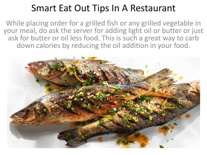 Smart Eat Out Tips In A Restaurant