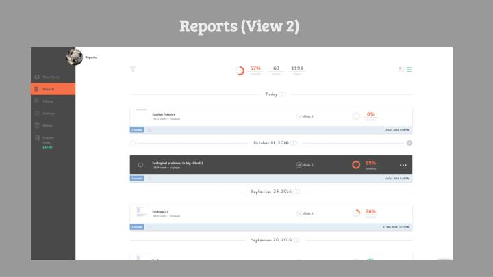 Reports (View 2)
