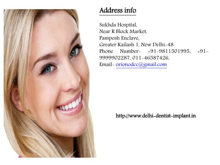 Address info