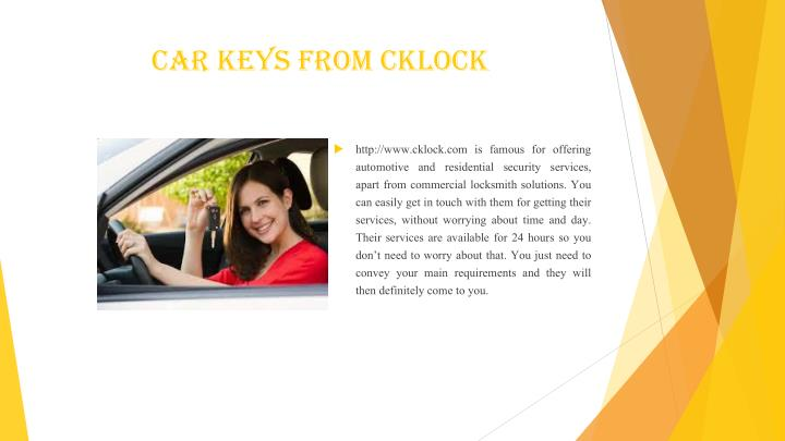 Car Keys from cklock